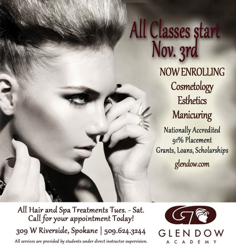 Glen Dow November Classes