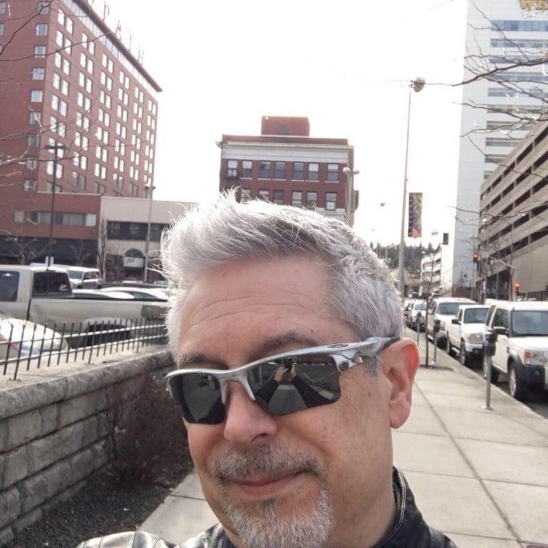 Selfie in Spokane